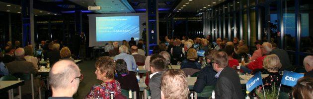 Ton und Licht für Stadtratsfraktionssitzung in der LGA
