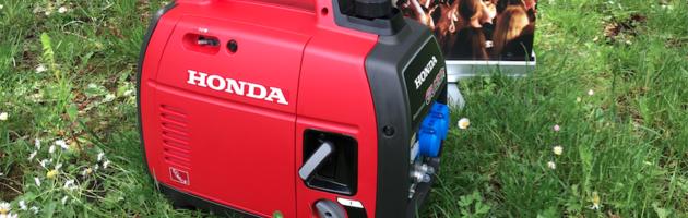Unser Honda EU22i – Stromaggregat!