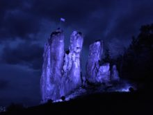 Lichttest in der fränkischen Schweiz